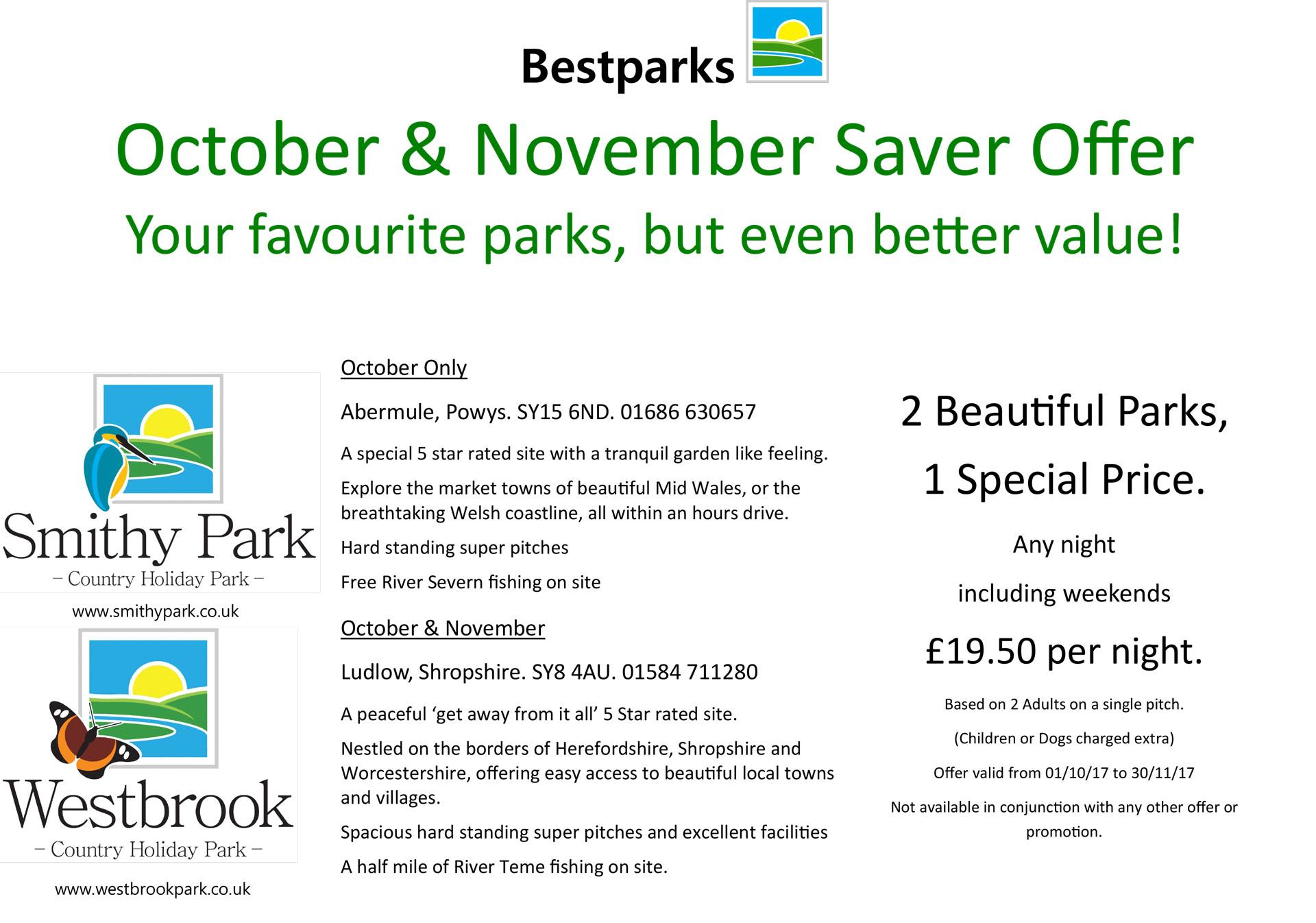 October/November offer